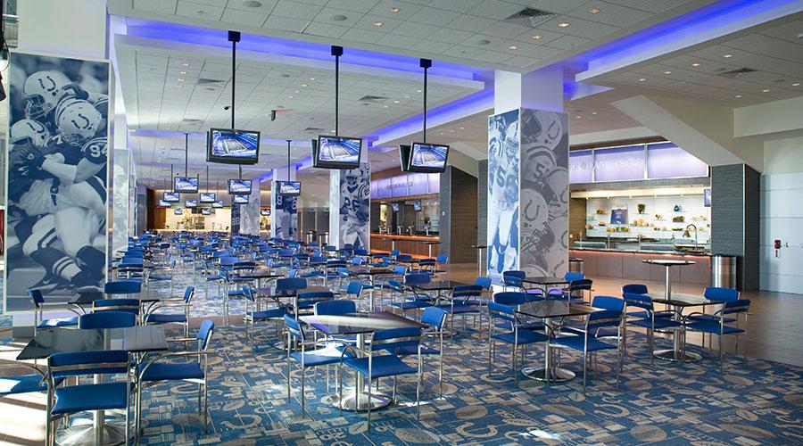 Lucas Oil Stadium Club Lounge